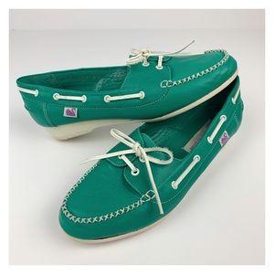 Vintage Gloria Vanderbilt Wedge Loafers